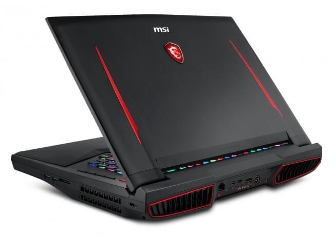MSI GT75 8RF Titan лучший игровой ноутбук 2018