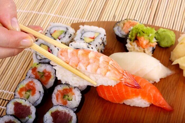 Суши в Токио