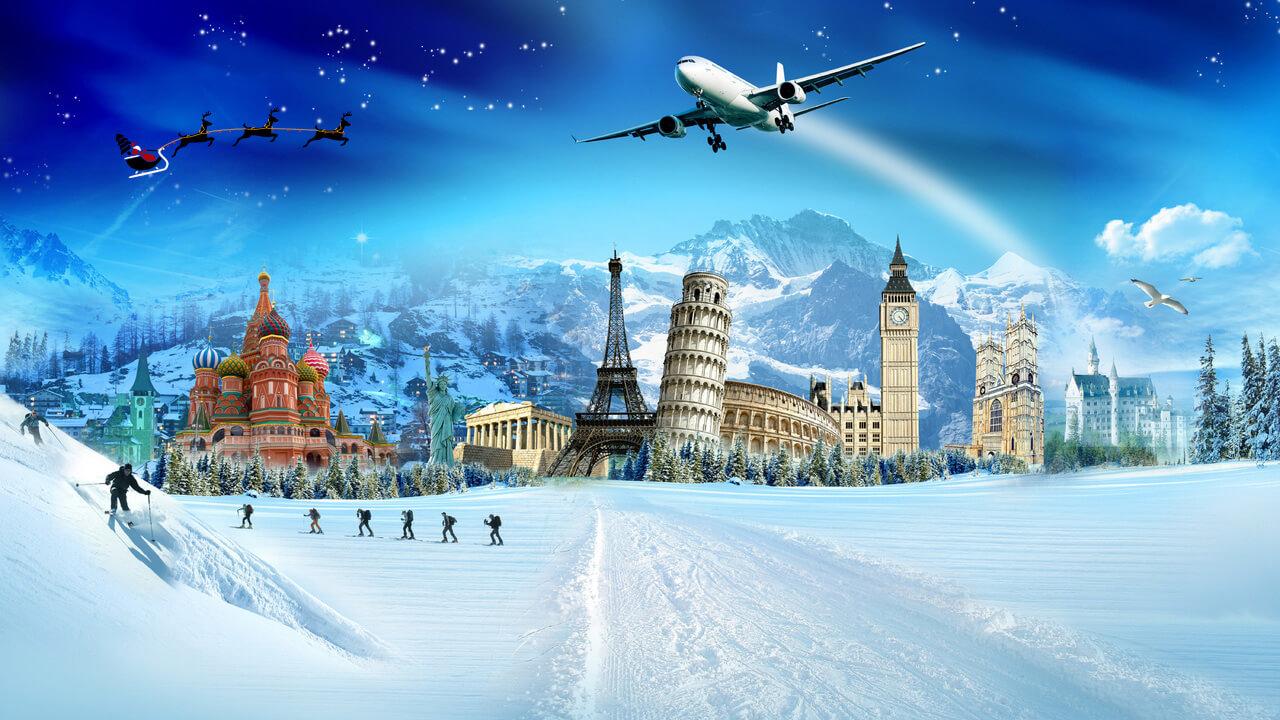 Куда полететь на новогодние праздники без визы