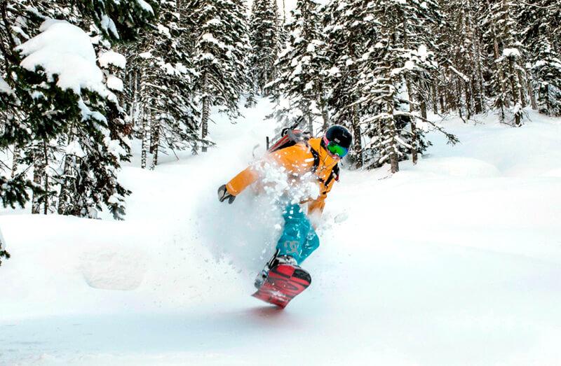 Сноуборд фрирайд