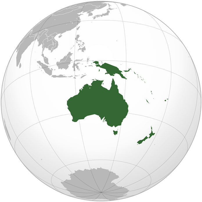 Австралия – самый маленький материк планеты