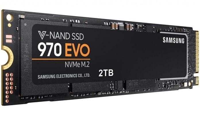 SSD M.2 NVMe 2 Tb Samsung