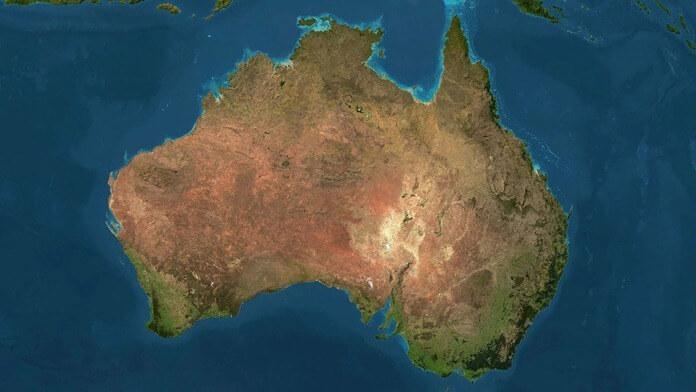 Площадь и население Австралии