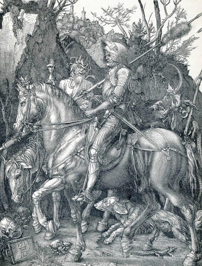 Рыцарь, смерть и дьявол – Дюрер