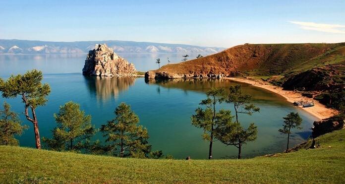 Озерол Байкал, Россия