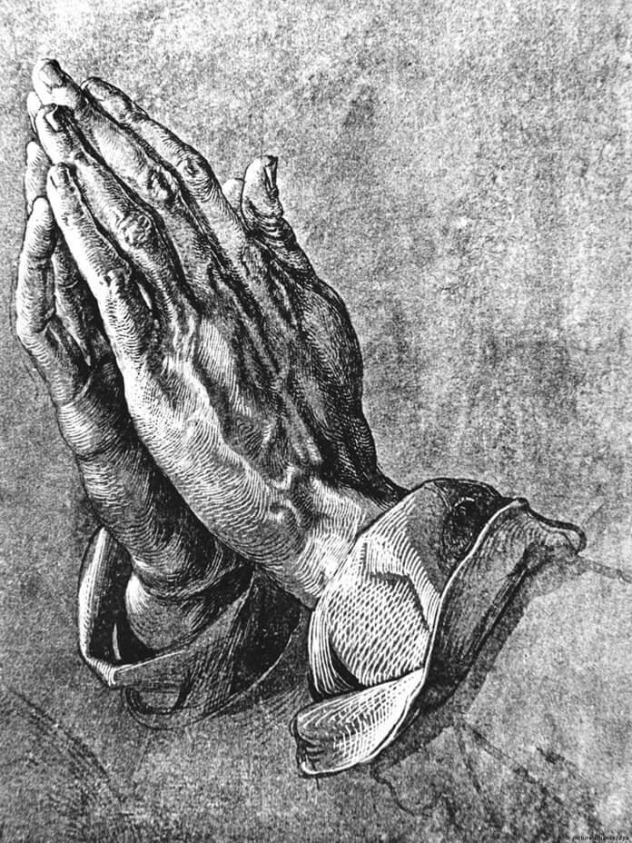 Руки Молящегося, худ. А. Дюрер