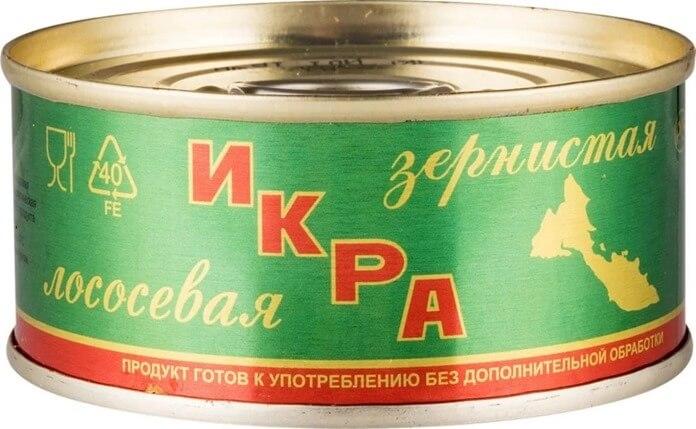 Русский рыбный мир икра лососевая