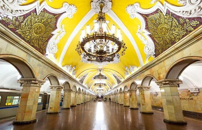 Самое красивое метро Москвы