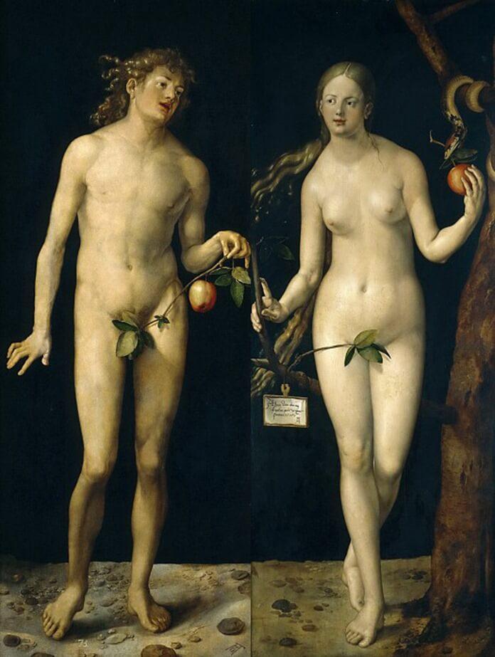 Адам и Ева – Альбрехт-Дюрер