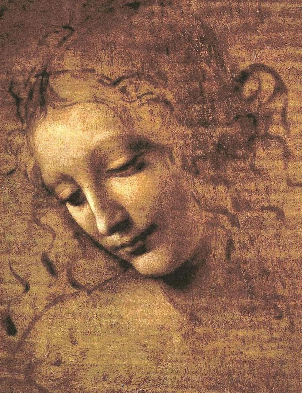 Голова девушки