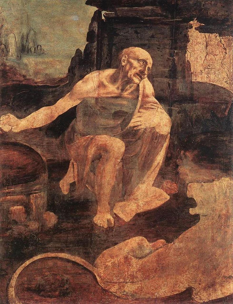 Святой Иероним в пустыне