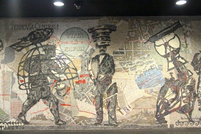 Центральная железная дорога для города Неаполя