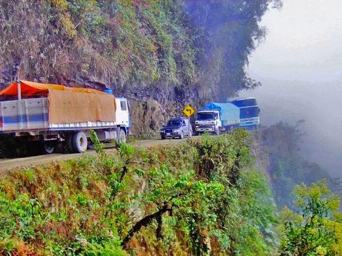 Северная Юнгас-роуд – самая опасная дорога в мире