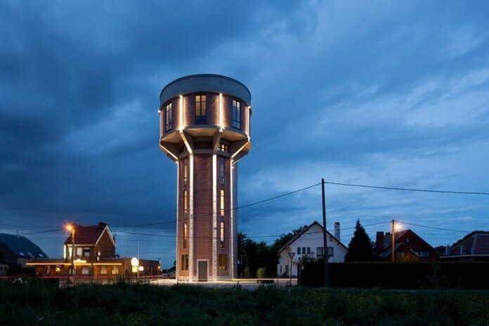 Water tower conversion