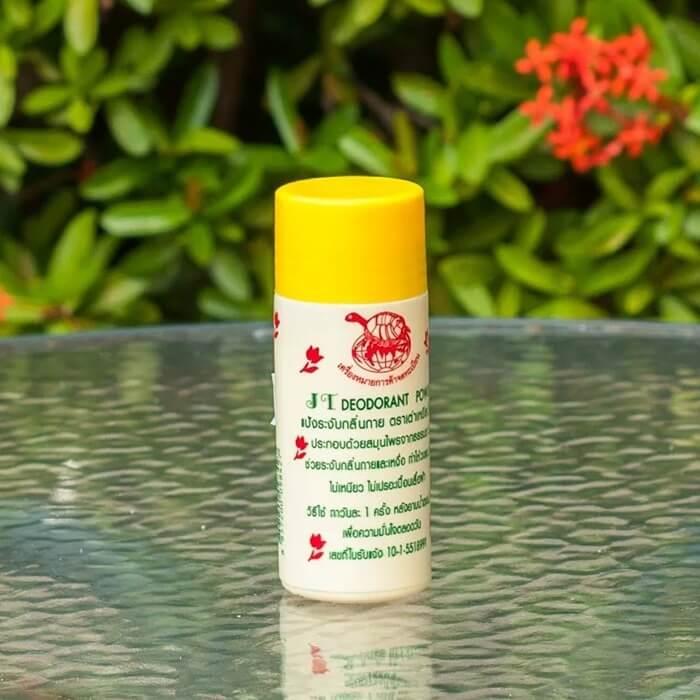 Тайская народная присыпка от пота и запаха