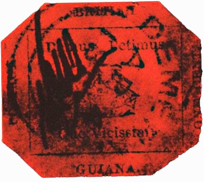 Британская Гвиана – самая дорогая почтовая марка в мире