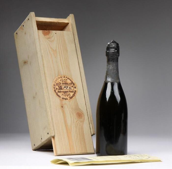 Shipwrecked 1907 Heidsieck – самое дорогое игристое вино