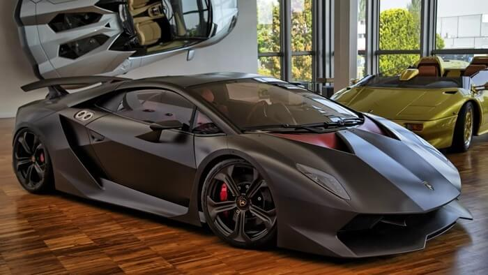 Фотография Lamborghini Sesto Elemento