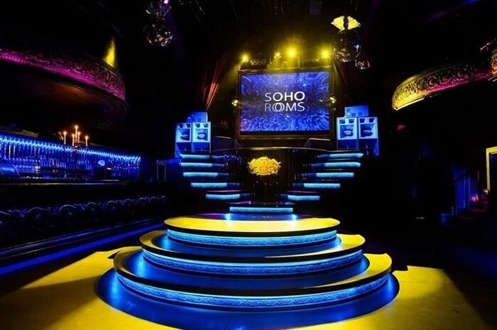Soho Rooms самый дорогой ночной клуб
