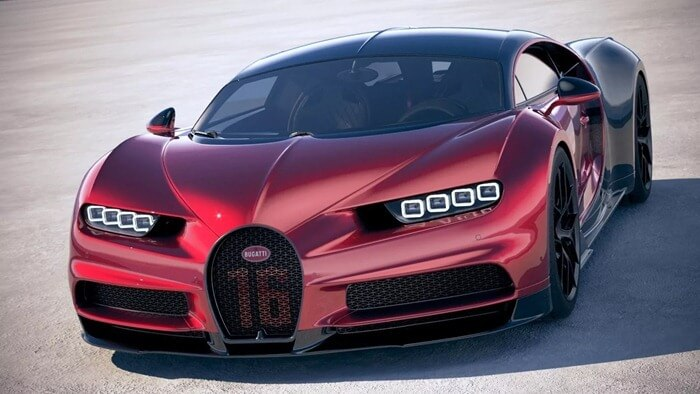 Bugatti Chiron Sport - 420 км/час