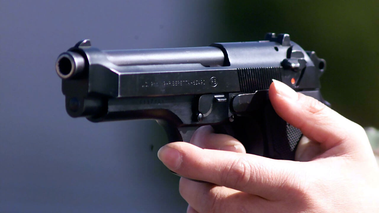 Самый мощный пневматический пистолет без лицензии - Topkin