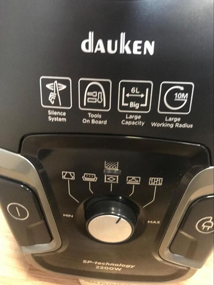 Органы управления и ЖК панель Dauken DW320