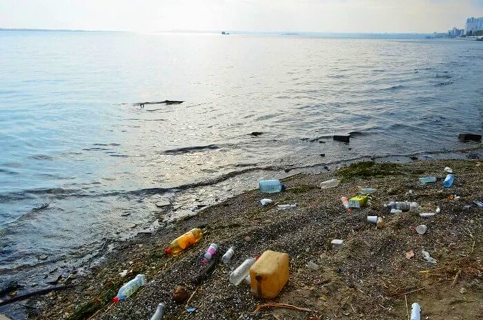 Волга, самая загрязненная река России