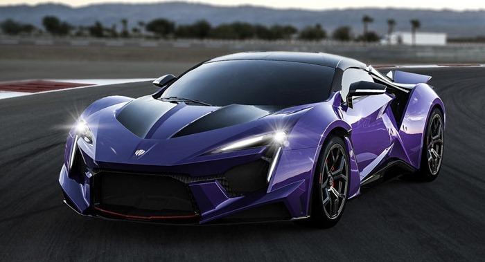 Lykan Fenyr Supersport - 394 км/час