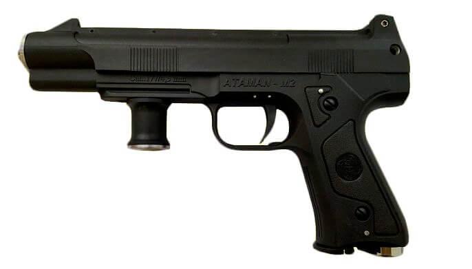 Атаман-М2 – самый мощный пневматический пистолет