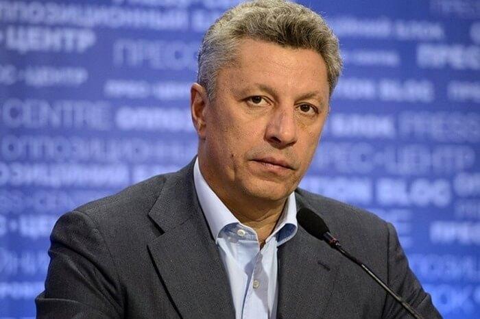 Бойко Юрий, рейтинг кандидата