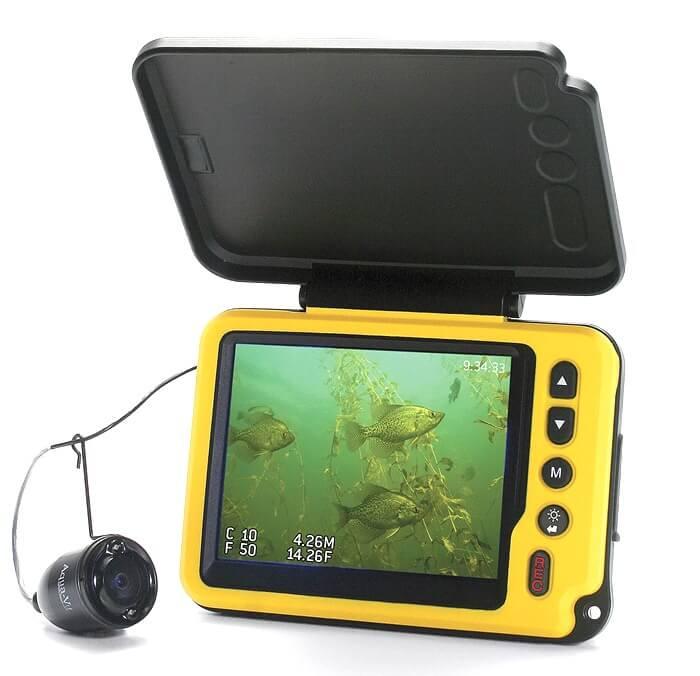 AQUA-VU MICRO PLUS DVR отличная камера для зимней рыбалки
