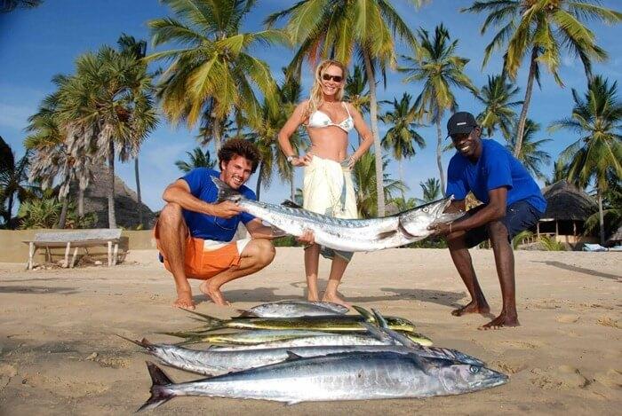 Кения, рыбалка