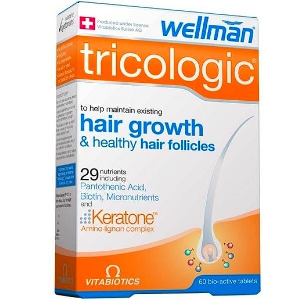 Wellman Tricologic витамины от облысения мужчин