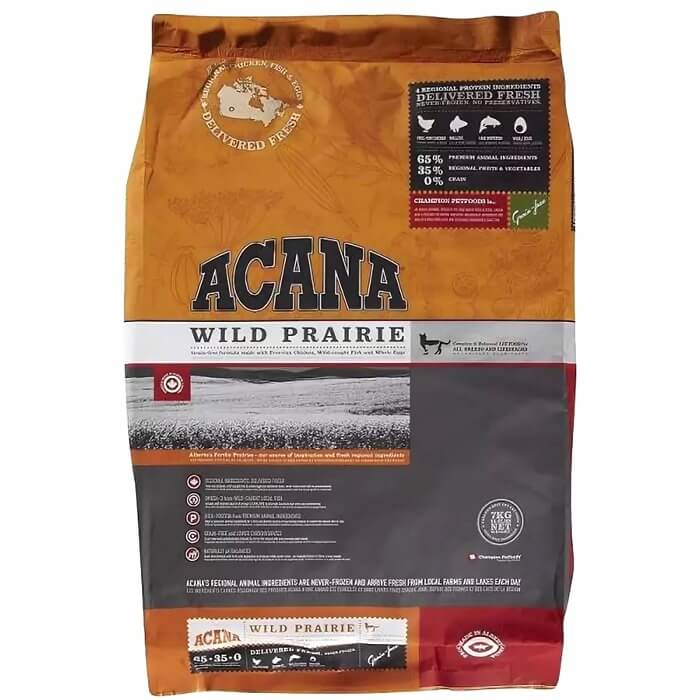 Acana – лучший корм холистик для кошек