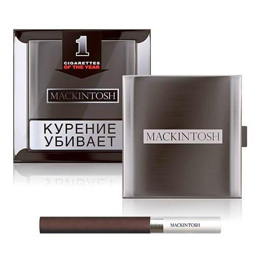 Mackintosh – самые дорогие сигареты в России