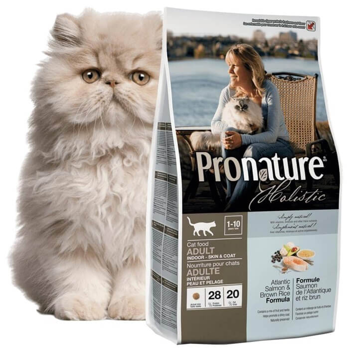 Pronature – лучший кошачий корм премиум класса