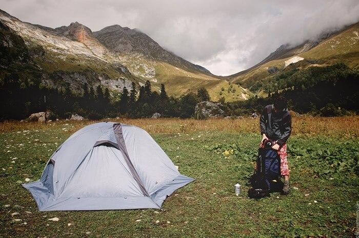 Легкая походная палатка