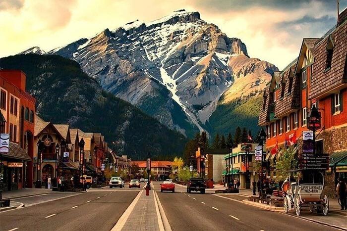 Банф, Канада