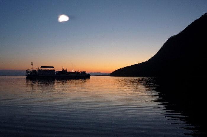 НЛО над Байкалом
