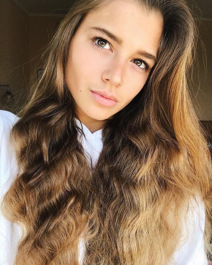 Александра Солдатова – красивая российская спортсменка