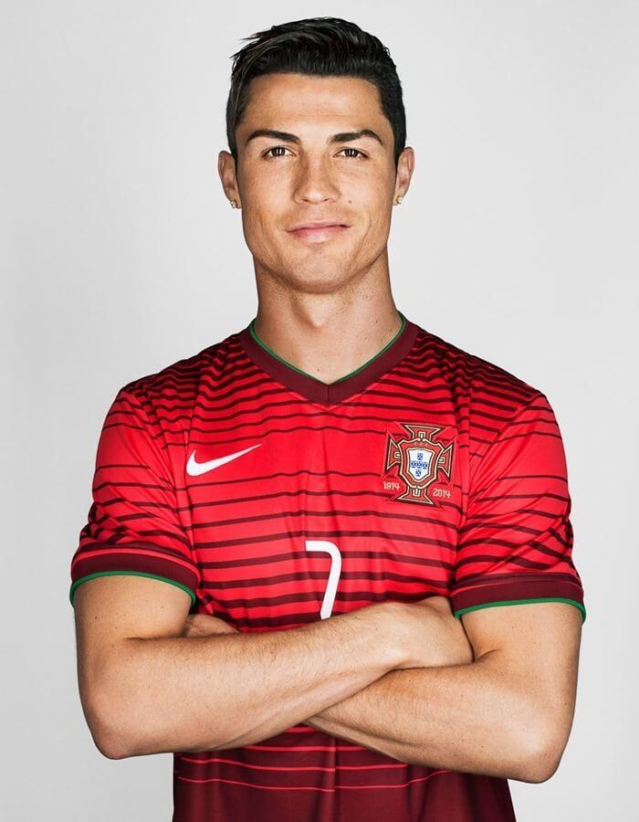 Криштиану Роналду – самый красивый футболист