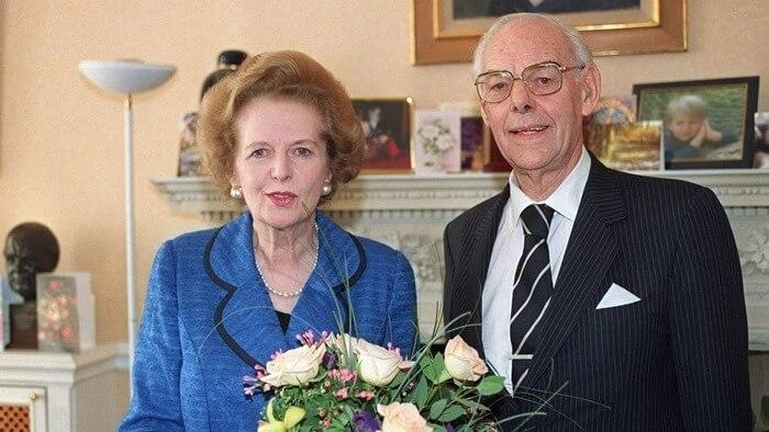 Маргарет и Денис Тэтчер