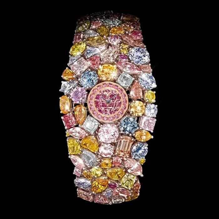 Graff Diamonds Hallucination самые дорогие наручные часы