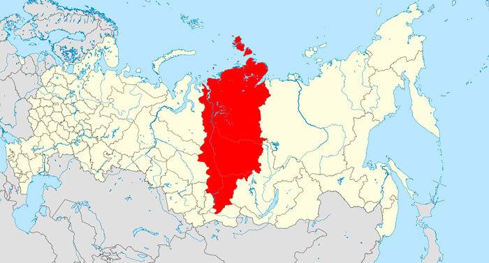 Красноярский край, крупнейший край РФ