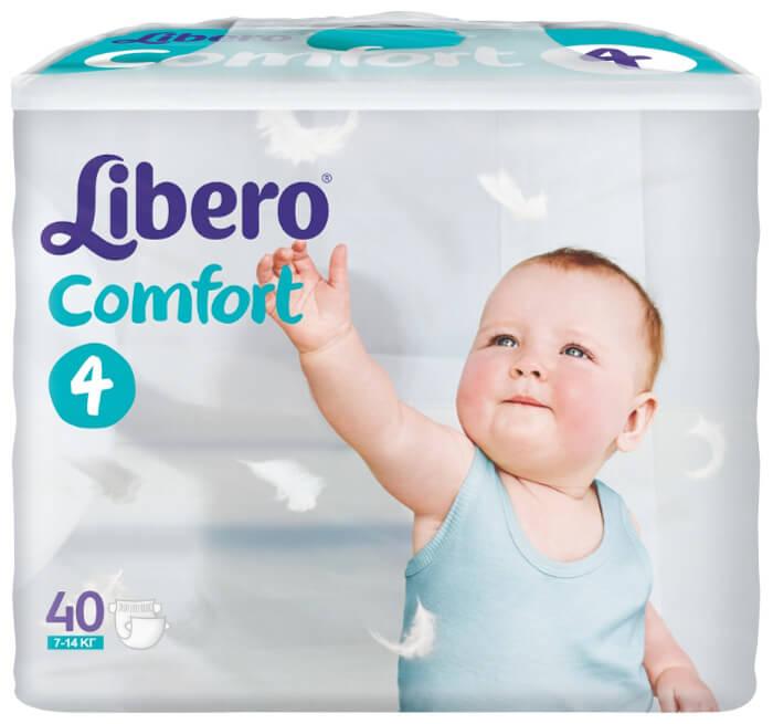LIBERO Comfort – популярные детские подгузники в России