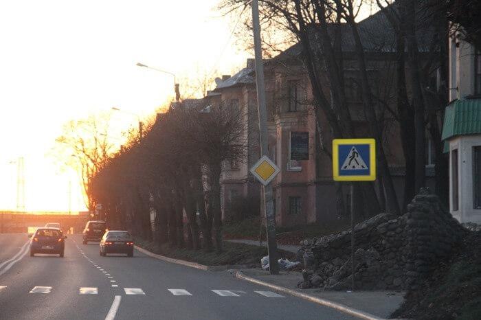 Витебское шоссе, Смоленск – длина: 16,4 км