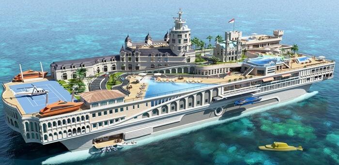 Яхта Streets of Monaco – самая дорогая вещь в мире