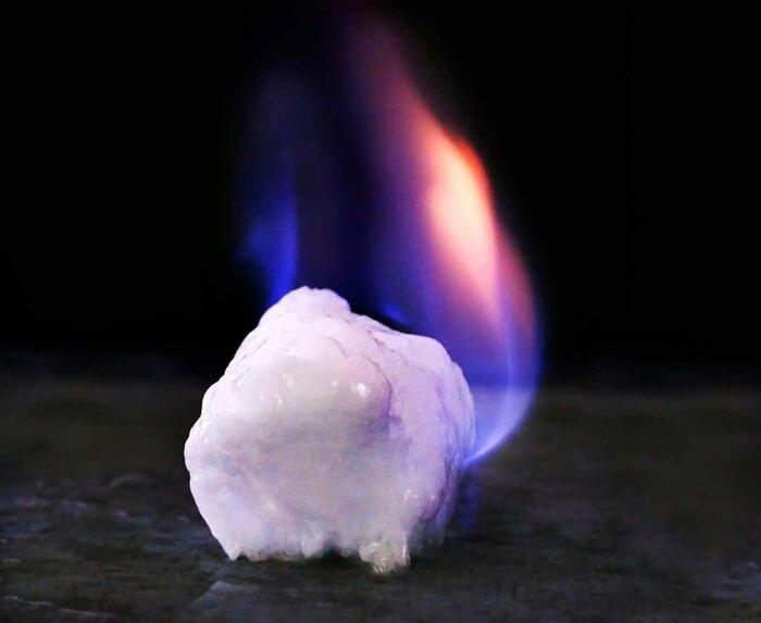 Газовый гидрат