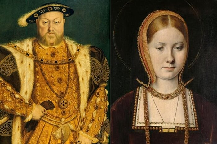 Генрих VIII и Екатерина Арагонская