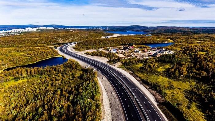Восточно-Объездная дорога, Мурманск – 17, 6 км